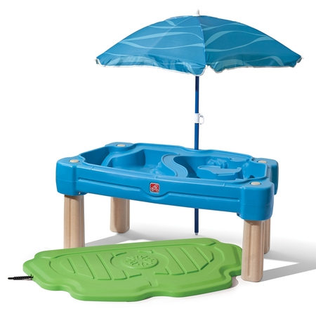 Step2 Cascading Cove Sand And Water Table With Cover And - Sanded Activity Table