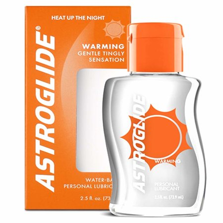 Astroglide Warming Personal Water Based Lubricant - 2.5 oz