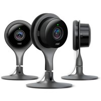 Nest Cam Indoor Security Cameras (3-Pack) - Black