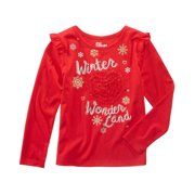 b3df616f2e7b09 Epic Threads Baby Girls Tango Red Tulle-Heart Holiday T-Shirt