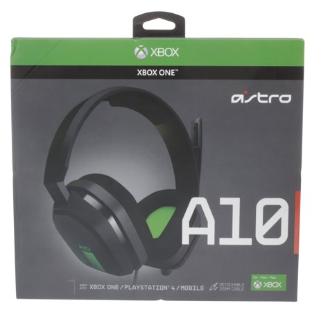 Astro Gaming A10 Gaming Headset Green Black Xbox One Walmart Com