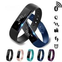 ID115 Bluetooth Smart Bracelet Wristband Heart Rate Monitor Fitness Tracker Step Counter Sleeping Monitor
