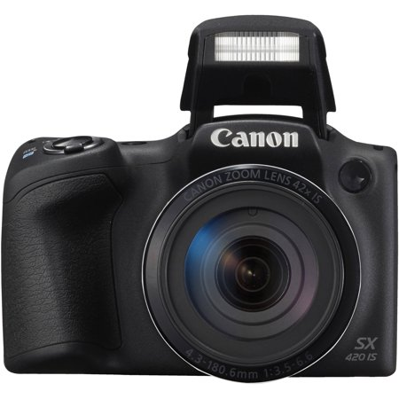 Canon PowerShot SX420 IS Digital Camera - Black Canon Powershot A85 Accessory
