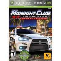 Rockstar Games Midnight Club LA: Complete Edition, 2K, Xbox 360, 710425397172