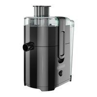 BLACK+DECKER Fruit and Vegetable Juice Extractor with Space Saving Design, Black, JE2400BD