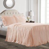 Ruffle Skirt 2-Piece Bedspread Set