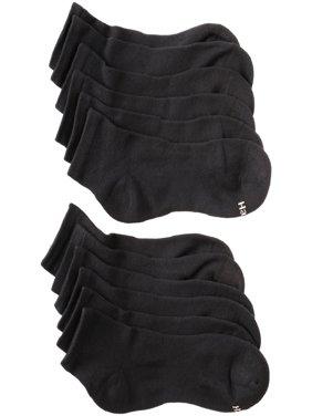 Hanes Womens Cool Comfort Sport Ankle Socks, 6 Pair