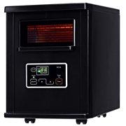 Goplus 1500W Electric Portable Infrared Quartz Space Heater Remote Black