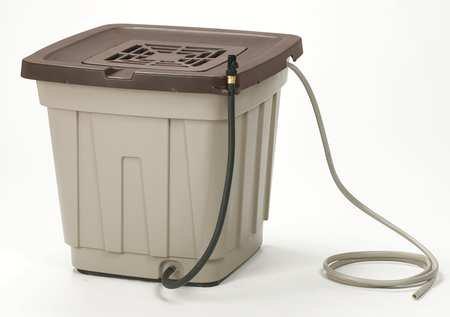 Suncast 50 Gallon Resin Rain Barrel,Taupe, RB50D