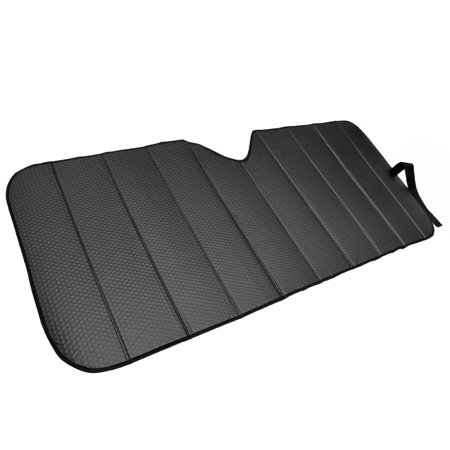 Motor Trend Front Windshield Sunshade for Car - Accordion Folding Auto Shade, Max Sun Block , 58x24 inch