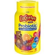 L'il Critters Probiotic Gummy Vitamins, 60ct