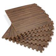 Forest Floor 5 8 Thick Printed Wood Grain Interlocking Foam Mats 16