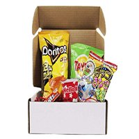 Snack Box from around the world - Care Package (5 Count)
