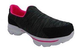 Athletic Works Girl's Athletic Slip On Shoe (Womens Athletic Slip)