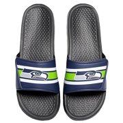 f65d4eea2888 Seattle Seahawks Men s Legacy Shower Sport Slide Flip Flop Sandals