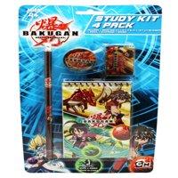 Bakugan Battle Brawlers Kids School Supplies Kit