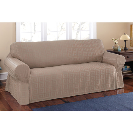 Mainstays Sherwood Slipcover Sofa ()