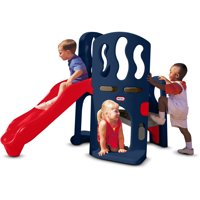 Little Tikes Hide & Slide Climber, Blue & Red - Climbing Toy and Slide for Kids Ages 2 to 6