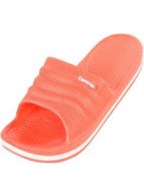 Cammie Women's Comfort Slip On Slide Sandals