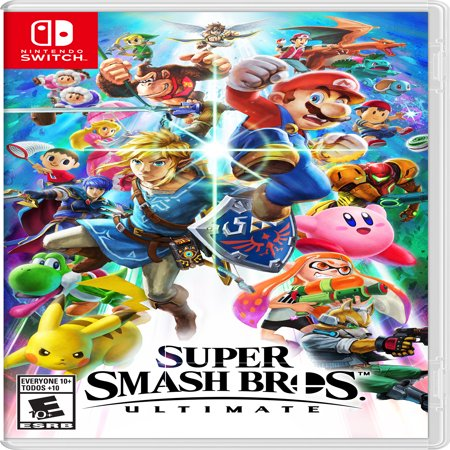 Super Smash Bros. Ultimate, Nintendo, Nintendo Switch, 045496592998 (Swish Card Game)