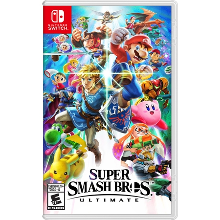 Super Smash Bros. Ultimate, Nintendo, Nintendo Switch, 045496592998