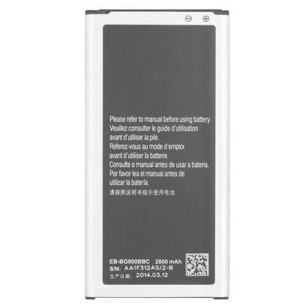 Replacement Battery 2800mAh for Samsung Galaxy S5 T-Mobile / SM-G900TZKATMB Phone Models