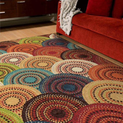 Area Rug Multi Colors