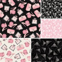 """David Textiles Fifth Avenue Collection 44"""" Quilting Cotton Fabric By The Yard"""