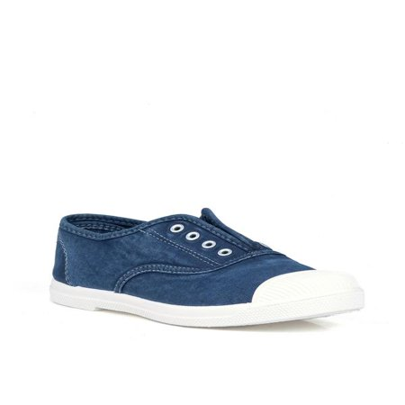 - Nature Breeze Laceless Women's Sneakers in Navy