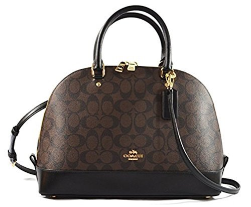 coach sierra satchel signature coated canvas handbag (Coach Handbags Wallets)