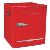 Frigidaire 3.2 Cu Ft Retro Mini Fridge With Side Bottle Opener, Red