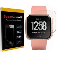 [4-Pack] For Fitbit Versa - SuperGuardZ Ultra Clear Screen Protector, Anti-Scratch, Anti-Bubble