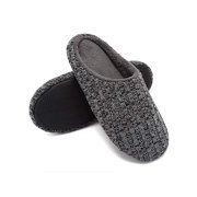 64da9c87bc3c FLORATA Unisex Women Men House Shoes Slippers Indoor Shoes Cotton Knit Memory  Foam Slippers Outdoor