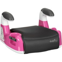 Evenflo AMP Performance Backless Booster Car Seat, Pink