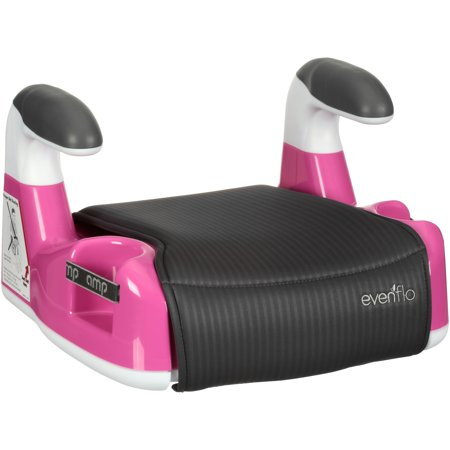 Pine Seat - Evenflo AMP Performance Backless Booster Car Seat, Pink