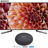 "Sony 49"" Class 4K Ultra HD (2160P) HDR Android Smart (XBR49X900F) with Google Home Mini (Charcoal)"