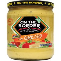 (2 Pack) Truco Enterprises On The Border  Salsa Con Queso, 15.5 oz