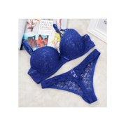 74a981921912 Women Bra Set Girls Lace Push Up Bra & Panties Briefs Underwear Lingerie