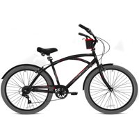 """Kent 26"""" Men's, Bayside Bicycle, Black/Gray"""