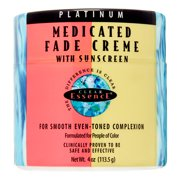 Clear Essence Platinum Medicated Fade Cr?me with Sunscreen, 4 oz