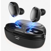 Wireless Bluetooth Earbuds, Hands-free Calling Sweatproof In-Ear Headset Earphone with Charging Case for iPhone/Samsung & Smart Phones, I0360