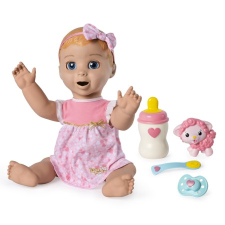 Luvabella Blonde Hair Responsive Baby Doll With Real Expressions