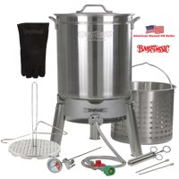 "Turkey Deep Fryer Oversized 44 Quart Stainless Steel ""Big Bird"" Kit by Bayou Classic"