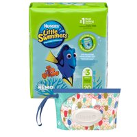 HUGGIES Little Swimmers Disposable Swim Pants + Bonus Clutch (Choose Size and Count)