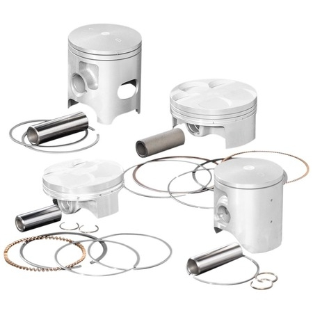 Wiseco 564M05550 Piston Kit - 1.50mm Oversize to (Qtvr Kit)