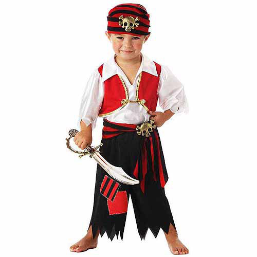 Exceptional Pirate Toddler Halloween Costume