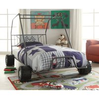 Xander Gunmetal Twin Go Kart Bed