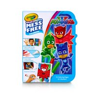 Crayola Color Wonder Pj Masks Coloring Kit, Coloring Pages And Mini Markers, Mess Free Coloring, 18 Pieces