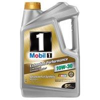 Mobil 1 Extended Performance 10W-30 Full Synthetic Motor Oil, 5 qt