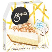 Edwards Triple Coconut Crme Pie 28.7 oz. Box